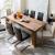LEEDS Tömör Bassano Tölgy Étkezőasztal 220x100cm